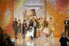 Utmärkelse 2017 för Wella trendvision Royaltyfria Bilder