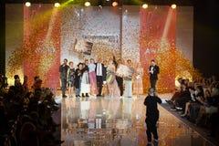 Utmärkelse 2017 för Wella trendvision Arkivbilder