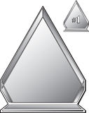 utmärkelsekristall Royaltyfria Bilder