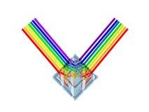 utmärkelsekristall Arkivfoton