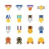 Utmärkelser och medalj Royaltyfri Foto