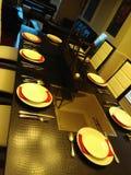 Utmärkt gjord matsal Fotografering för Bildbyråer