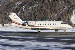 Utmanare 350 för Bombardier BD-100-1A10 Royaltyfri Fotografi