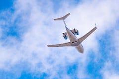 Utmanare 604 för Bombardier CL-600-2B16 Royaltyfria Bilder