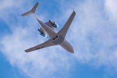 Utmanare 604 för Bombardier CL-600-2B16 Royaltyfri Bild