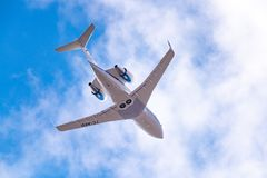 Utmanare 604 för Bombardier CL-600-2B16 Fotografering för Bildbyråer