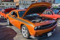 Utmanare för 2011 Dodge Fotografering för Bildbyråer