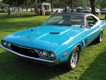 Utmanare för 1972 Dodge Fotografering för Bildbyråer