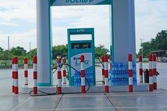 Utmatare för gas LPG Royaltyfria Bilder