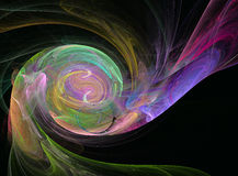 Utmärkta färgrika abstrakt begreppdiagram Arkivbild