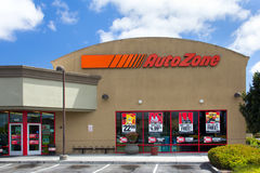 Uto Zone car parts store Stock Images