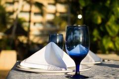 Utomhus- äta middag Royaltyfri Foto