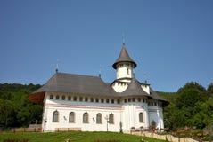Utomhus- arkitektur av den Pangarati kloster Arkivfoto
