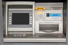 Utomhus- ATM-bankomat royaltyfri foto