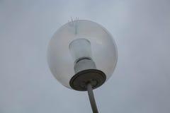 Utomhus- bakgrund för sfärisk lampa Royaltyfri Foto