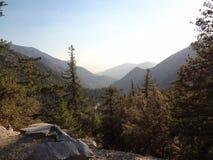 Utomhus- bergskönhet 01 för Mt Baldy Arkivfoto