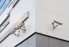 Utomhus- bevakningkamera Arkivbild