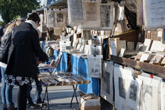 Utomhus- bokhandlareask Royaltyfria Bilder