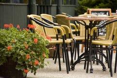 utomhus- cafe Royaltyfria Foton