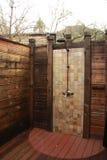 utomhus- dusch Royaltyfria Bilder