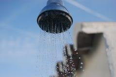 utomhus- dusch Arkivfoton