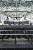 utomhus- etapp för konsert Royaltyfri Fotografi