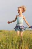 utomhus- flicka Royaltyfri Bild
