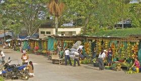 Utomhus- frukt Market3, Leticia, Colombia Arkivbild