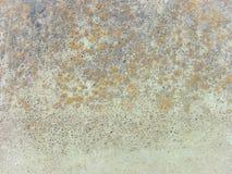 Utomhus- grunge polerad konkret textur Arkivfoto