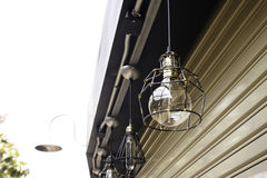 Utomhus- Hang Lamp arkivbilder