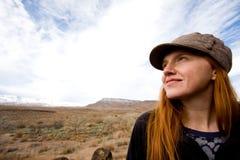 utomhus kvinna Arkivfoton