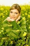 utomhus- kvinna för affär Royaltyfri Foto