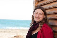 utomhus- kvinnabarn Fotografering för Bildbyråer