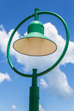Utomhus- lampa Arkivbild