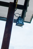 utomhus- lampa Royaltyfria Foton