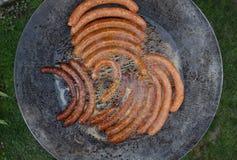 Utomhus- matlagning Arkivbild