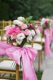 utomhus- platsbröllop Royaltyfria Foton