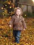 Utomhus- pojke Royaltyfri Bild