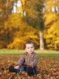 Utomhus- pojke Royaltyfri Foto