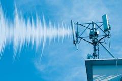 Utomhus- radiocell för trådlös telefon 4G Royaltyfria Foton