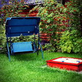 Utomhus- rekreationställe Royaltyfri Fotografi