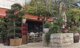 Utomhus- restaurang 2 Arkivbild