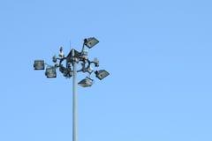Utomhus- säkerhetsljus Fotografering för Bildbyråer