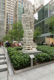 Utomhus- skulptur, New York City Arkivbilder