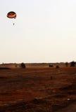 Utomhus- sportar och det para seglingaffärsföretaget parkerar Rajasthan Indien Arkivfoto