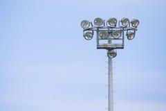 Utomhus- stadionljus Royaltyfria Bilder