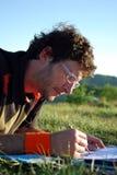 utomhus- study Fotografering för Bildbyråer