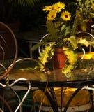 utomhus- tabell Fotografering för Bildbyråer
