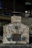 Utomhus- tegelstenugn Royaltyfri Foto