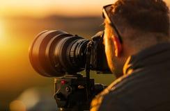 Utomhus- Telephotofotografi royaltyfri foto